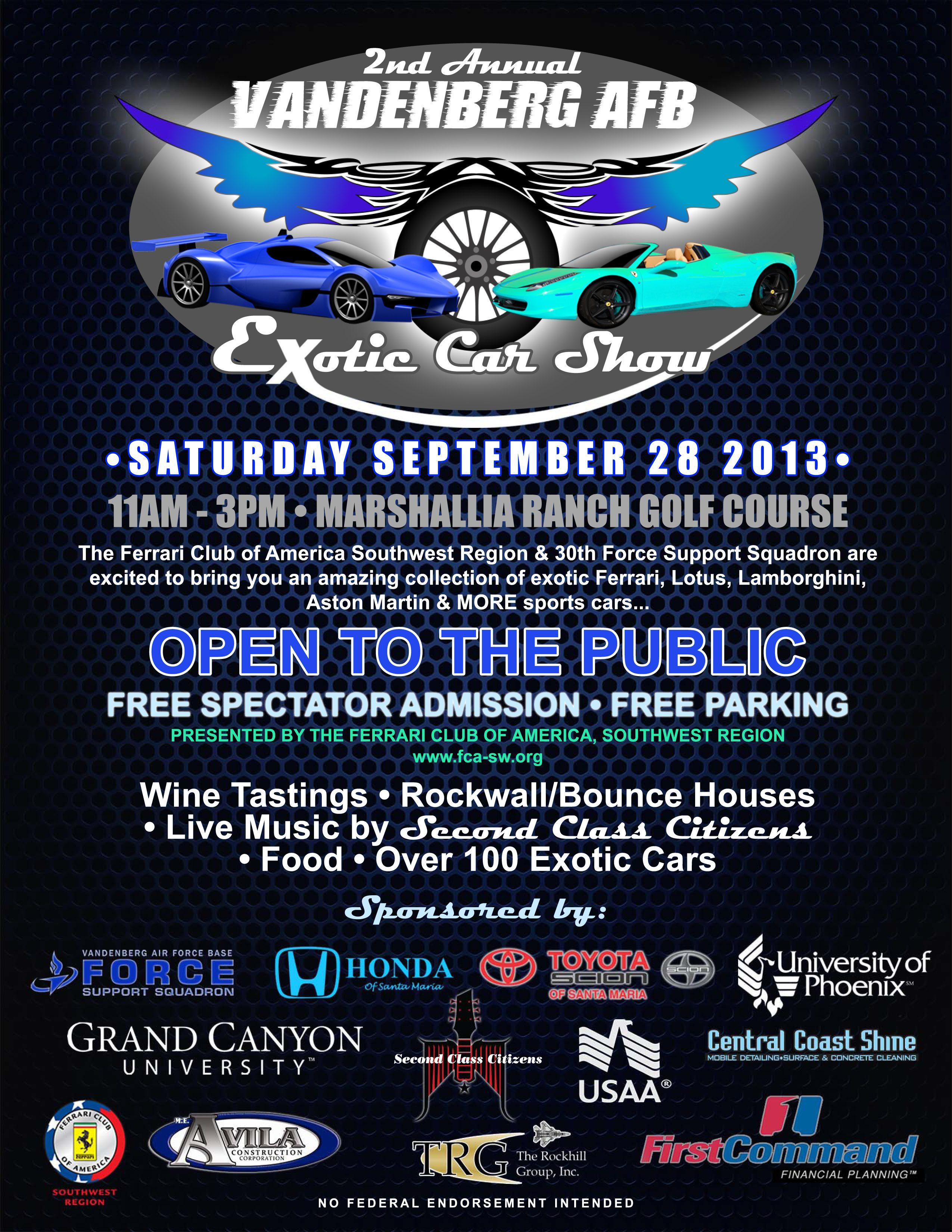 Exotic-Car-Show Flyer.psd